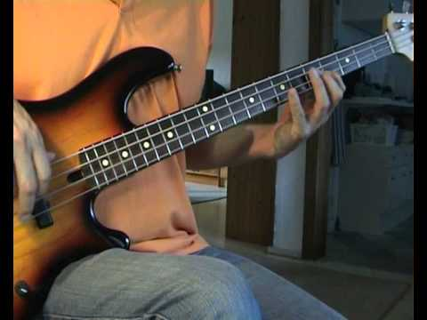Creedence Clearwater Revival - Born On The Bayou - Bass Cover