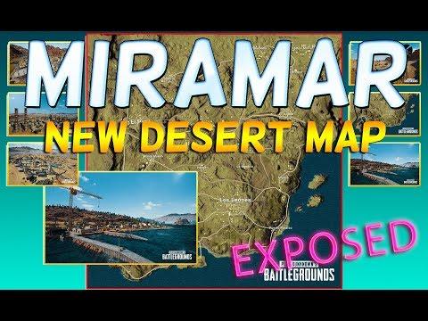 PLAYERUNKNOWN'S BATTLEGROUNDS MIRAMAR - NEW Desert Map!!! thumbnail