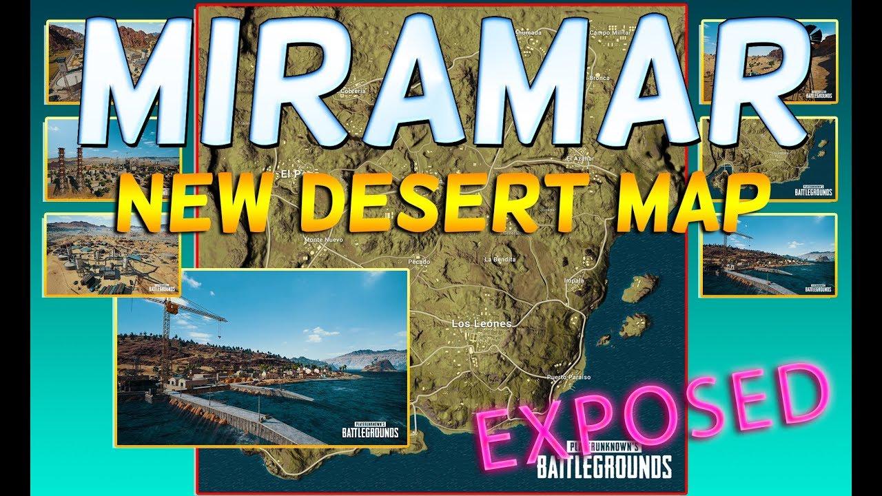 Playerunknown S Battlegrounds Desert Map: PLAYERUNKNOWN'S BATTLEGROUNDS MIRAMAR