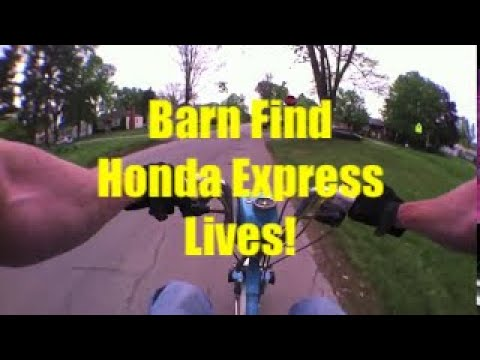 Riding the Barn Find 1981 Honda Express