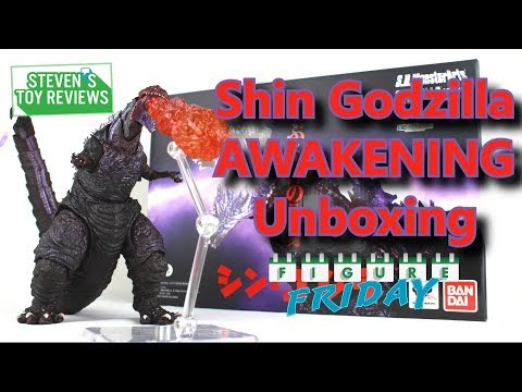 S.H. MonsterArts Shin Godzilla Awakening Unboxing And ANNOUNCEMENT