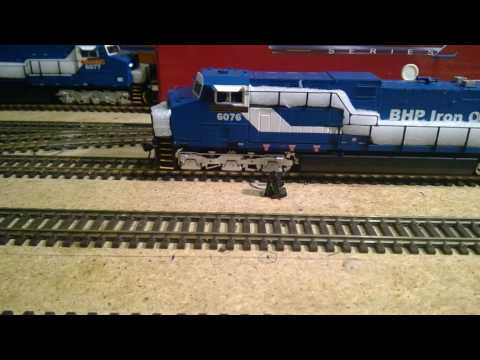 BROADWAY LIMITED (BHP GE AC6000) HO SCALE