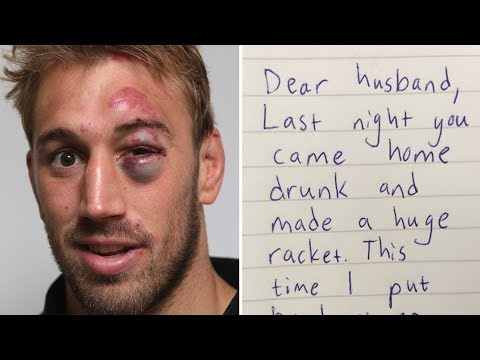 Jack Wakes Up With Black Eye And Finds His Wife Note That Made Him Cry