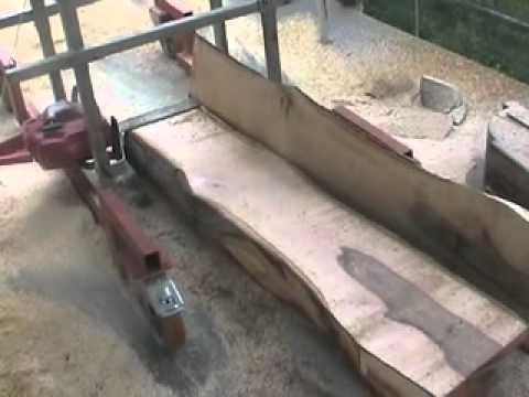 Come ricavare tavole da un tronco con il motosega doovi for Motosega fissa