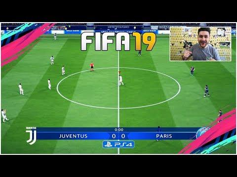 FIFA 19 FULL GAMEPLAY CHAMPIONS LEAGUE - JUVENTUS Vs PSG !!! AMAZING GOALS !!!