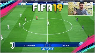 FIFA 19 FULL GAMEPLAY CHAMPIONS LEAGUE - JUVENTUS vs PSG !!! AMAZING GOALS !!!