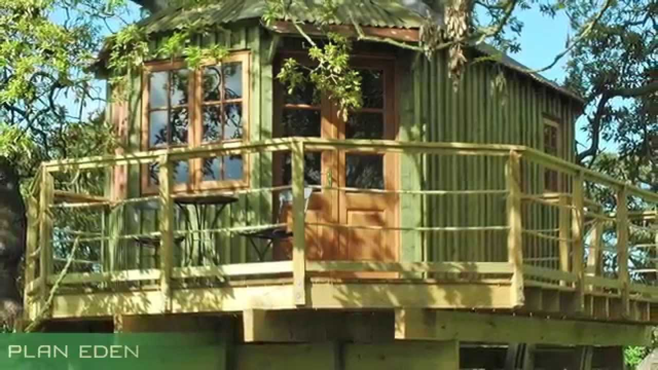 Treehouse Masters Irish Cottage bespoke hideaway treehouse design & build in ireland - youtube
