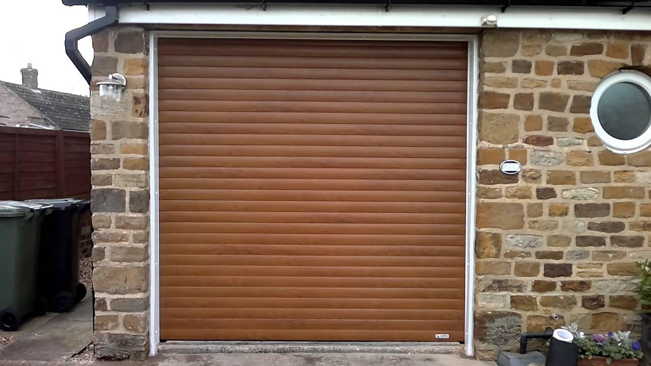 Insulated roller garage door golden oak 0024 youtube insulated roller garage door golden oak 0024 rubansaba