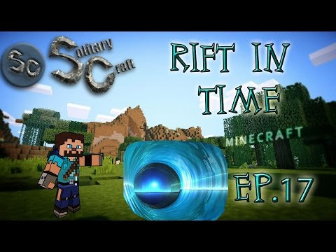 Minecraft 1.7.10|  SolitaryCraft Rift in Time| Ep.17| First Death Protection Poppet (Witchery)