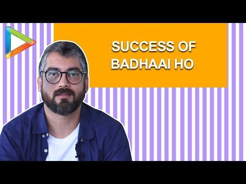 Badhaai Ho Director: Amit Sharma OPENS up about the MAMMOTH Success of the Film