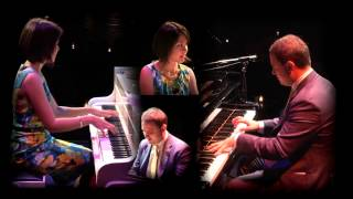 The World is Waiting for the Sunrise - Paolo Alderighi and Stephanie Trick, piano duo, 2014