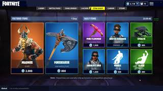 Fortnite item shop 7/14/18 NEW *MAGNUS* SKIN!!!