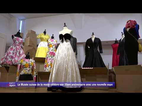 Le Musée suisse de la mode célèbre son 35em anniversaire avec une nouvelle expo