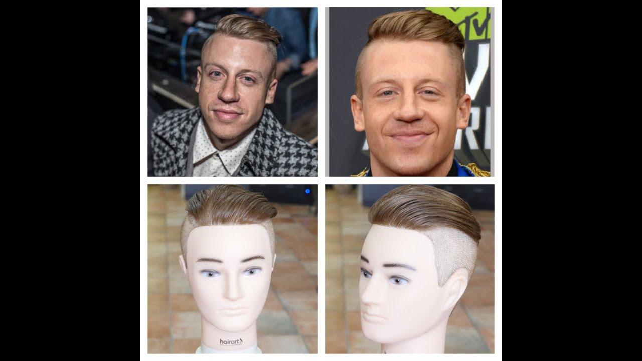 Macklemore Undercut Haircut Tutorial Youtube