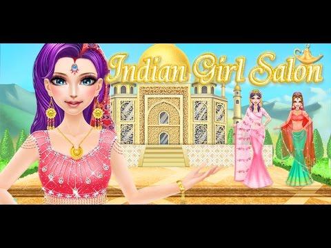 Indian wedding dress up games barbie