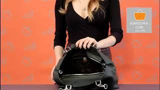 Классическая сумка Deboro 3096 dark green