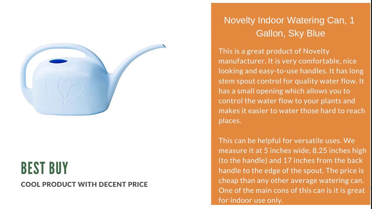 Best Watering Can Reviews