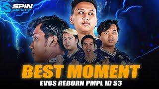 BEST MOMENTS EVOS REBORN PMPL ID SEASON 3  - TIM BARU TAPI LANGSUNG JUARA #2