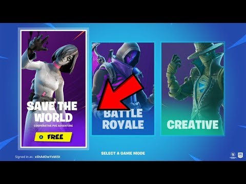 How To Get Fortnite Save The World Free! (XBOX,PS4,PC) *v11.10*