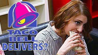 Taco Bell Delivers Food Straight To Your Door! - Sourcefed