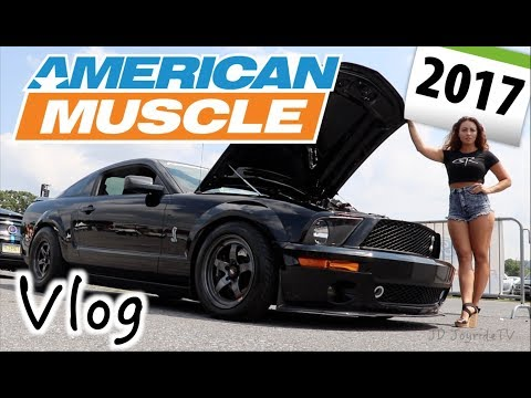 Vlog - American Muscle 2017 Worlds Largest Mustang Show