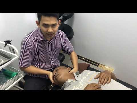 Operasi tulang belakang.