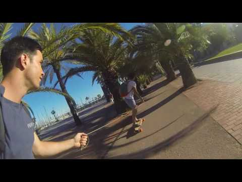 Barcelona Electric Skateboard - Evolve Pintail