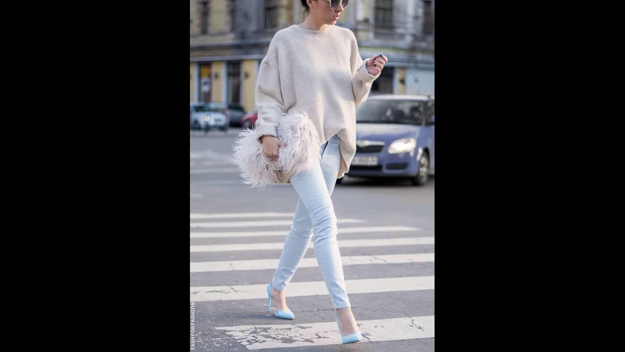7beb090fa5 20 Light Sweater Styles to Pop up Your Looks Pretty Designs - YouTube