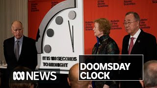 Doomsday Clock moves closest to midnight in its 73-year history | ABC News