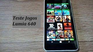 Teste 15 Jogos Pesados Microsoft Lumia 640 DTV / Top Games Windows Phone 8.1