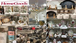 HomeGoods Kitchen Home Decor   Dinnerware Table Decoration Ideas   Shop With Me August 2019