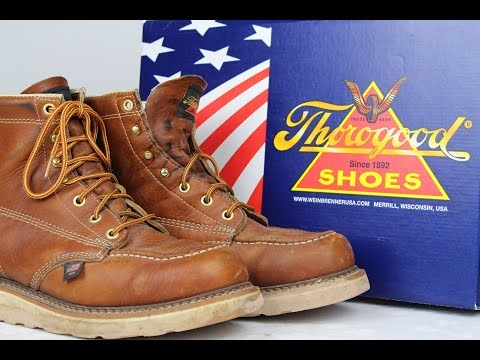 THOROGOOD 814-4200 Moc Toe *6 MONTH REVIEW*