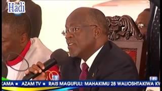 رئيس تنزانيا يطلب من مواطنة مسح دموعها ويحقق في مظلمتها «فيديو»