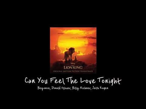 EN한국어 Beyonce Donald Glover Billy Eichner Seth Rogen - Can you feel the love tonight 가사해석