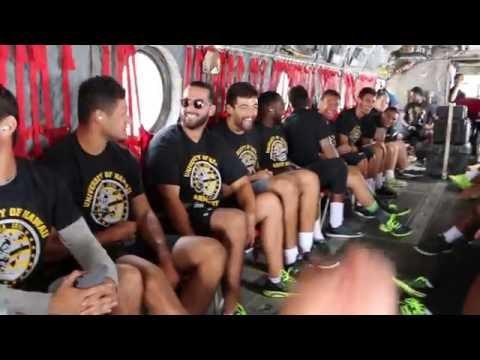 Hawaii Football Team Building at Army