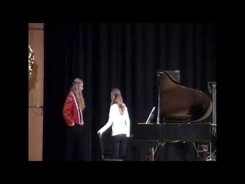 Jefferson Middle School Winter 2014 Music Concert (Jamestown, NY) complete with speeches