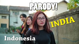 PARODY INDIA In Indonesia - Prankster Jogja, Plebeyos TV, AWANKSOME