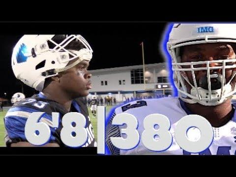 6'8 380 | Evan Neal | IMG Football Academy | Class of 2019 | Junior Year Spotlight