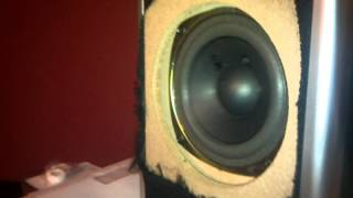 1-15hz maxed ! insignia computer subwoofer