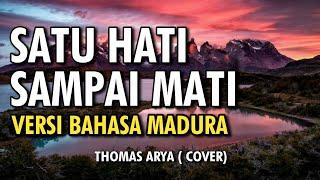 SATU HATI SAMPAI MATI COVER BAHASA MADURA