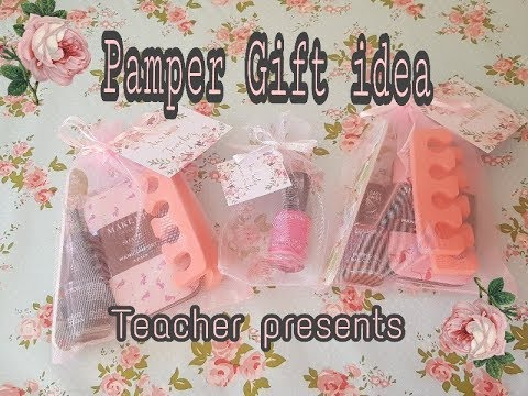 Poundland items - Nail Gift Ideas - TOE-tally awesome - Teacher gift - Token gift