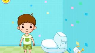 Toilet Training - Baby's Potty - Learn Potty Training in a funny way - Fun Kids Games - Babybus