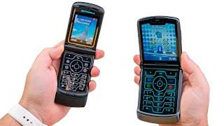 Распаковка Motorola RAZR 5G 2020 с гибким экраном - спустя 16 лет все еще могёт. Возвращение легенды