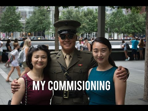 My Commissioning Ceremony - 2nd Lt. Avery Soong