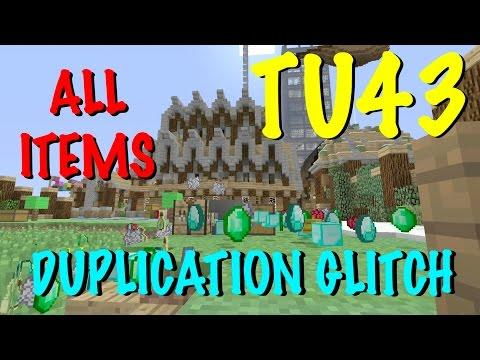 Minecraft Xbox / PS - TU43 - DUPLICATION GLITCH  - TUTORIAL - NEW + WORKING - ALL ITEMS!