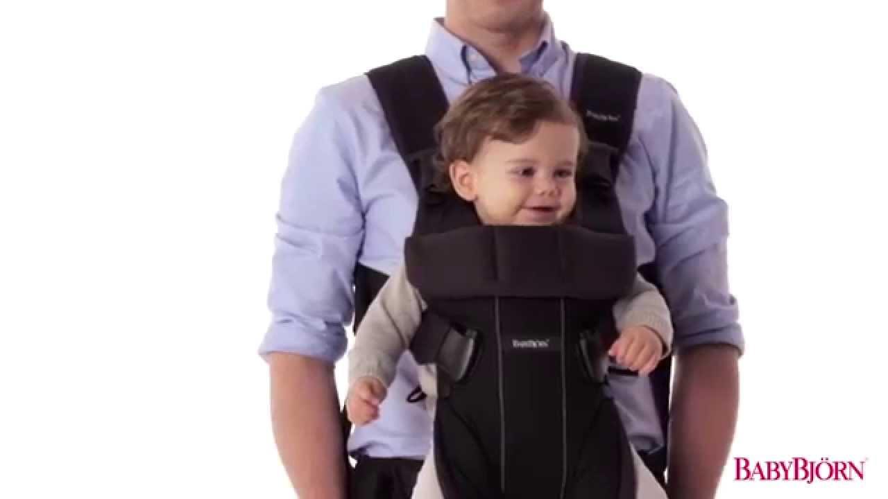 5a35191d1b2c Utilisation du porte-bébé One par BabyBjörn - YouTube