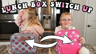 Lunch Box SWITCH UP Challenge! **RANDOM FOODS Edition**