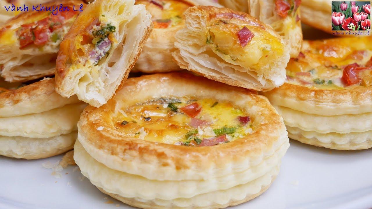 BÁNH NGÀN LỚP NHÂN MẶN – Cách làm Bánh Ngàn Lớp và Muffin mặn cho các bữa tiệc nhỏ by Vanh Khuyen
