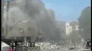 Missile attack on Haifa Israel