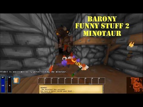 Barony Funny Stuff 2: Minotaur